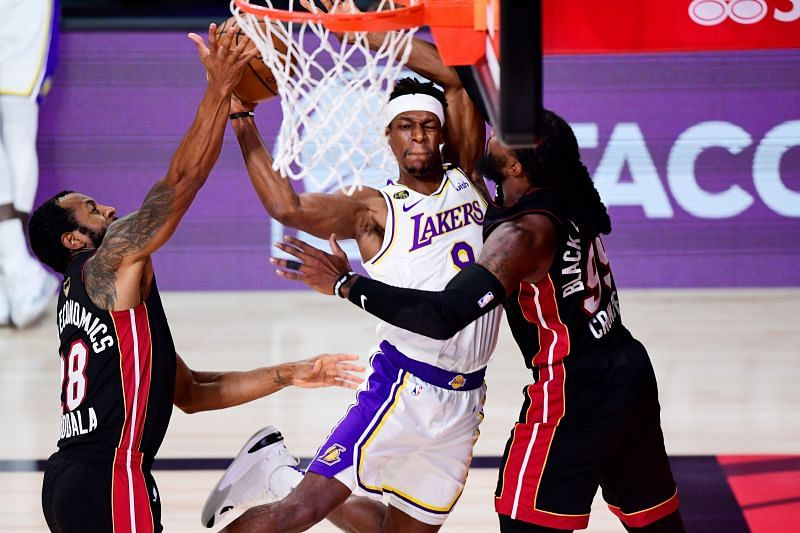 Rajon Rondo was instrumental in the Lakers