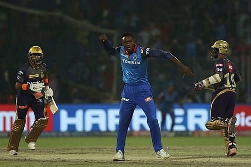 Delhi Capitals vs Kolkata Knight Riders. Pic: IPLT20.COM