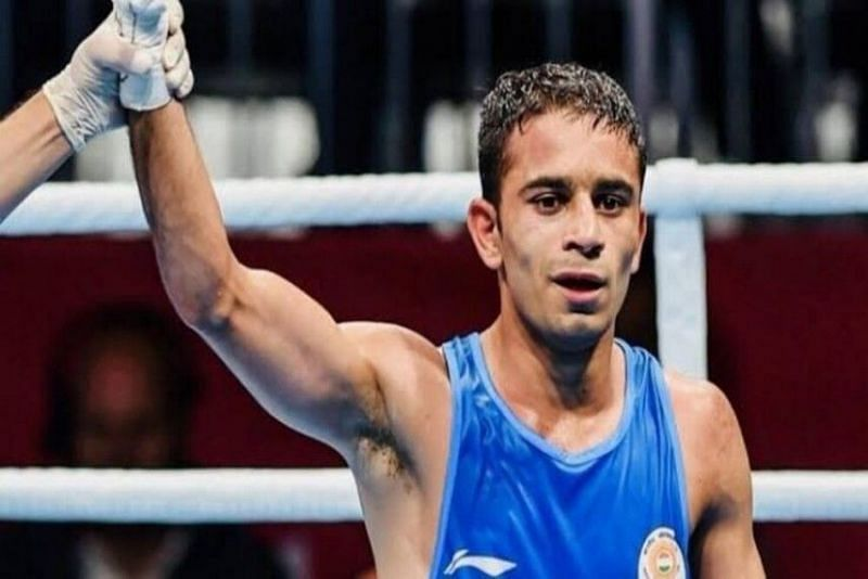 Amit Panghal won a gold medal at the Alexis Vastine International Boxing Tournament