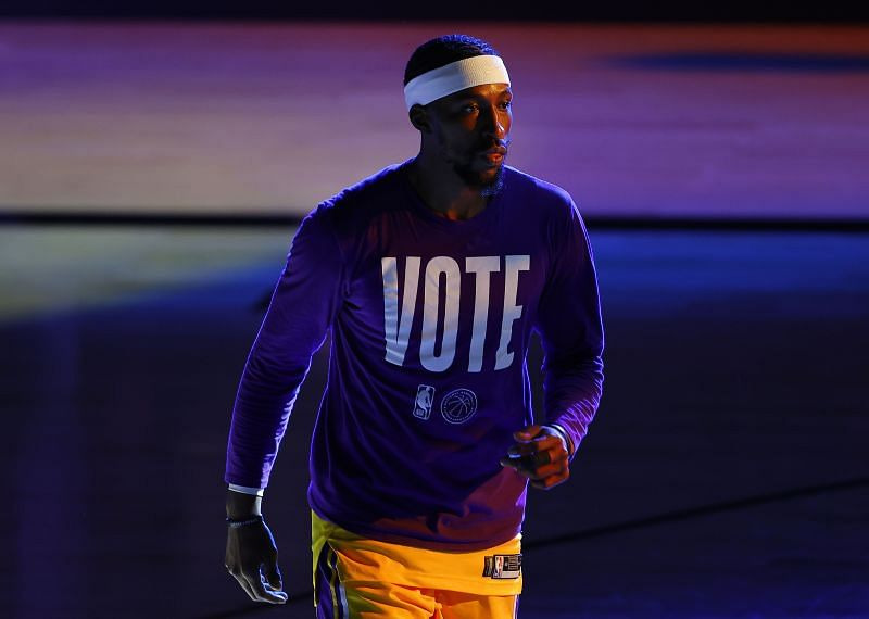 Caldwell-Pope was third in scoring for the Los Angeles Lakers in the NBA Playoffs