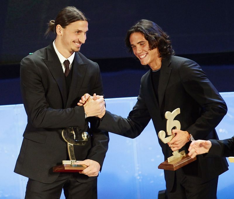 Both Zlatan and Cavani find themselves on this elite list