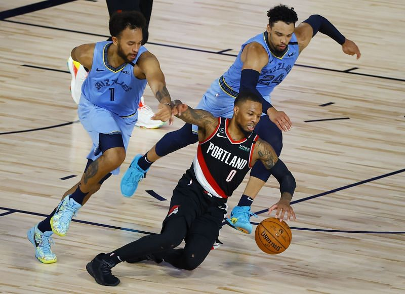 Memphis Grizzlies and Portland Trail Blazers played the only play-in game last season
