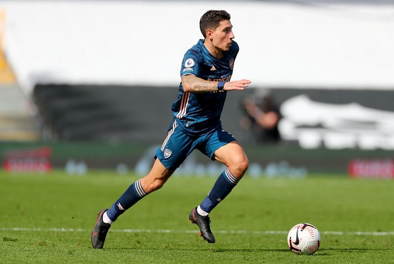 Bellerin has four assists for Arsenal this season