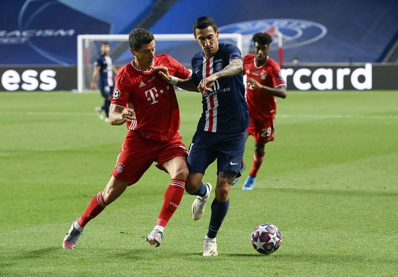 Angel Di Maria in action