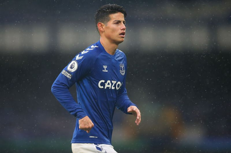 James Rodriguez has re-invented himself at Goodison park