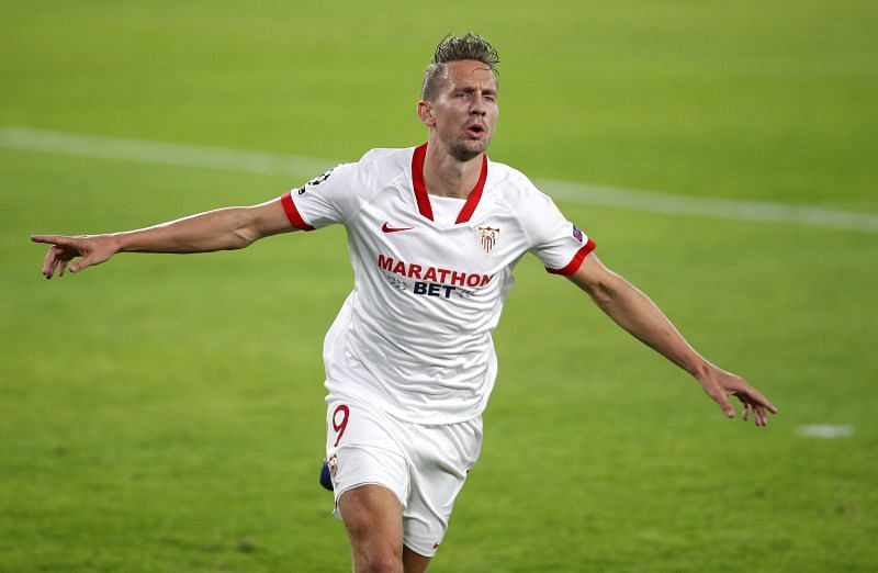 Luuk De Jong has scored three goals across all competitions for Sevilla this season