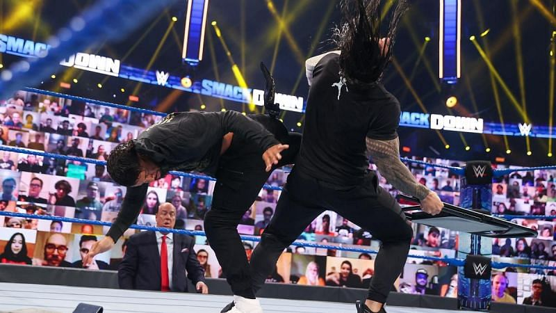 Under no circumstances should Roman Reigns lose the Universal Championship