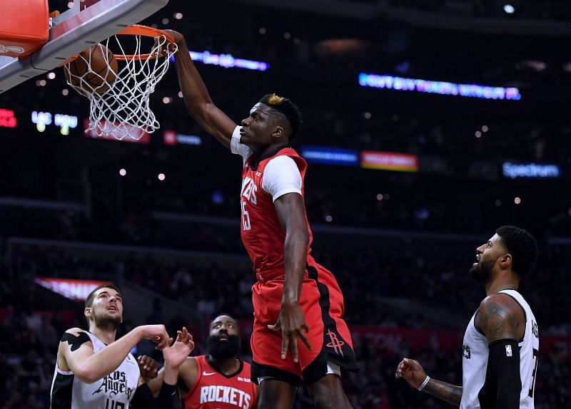 Clint Capela is our dream center for the Atlanta Hawks.