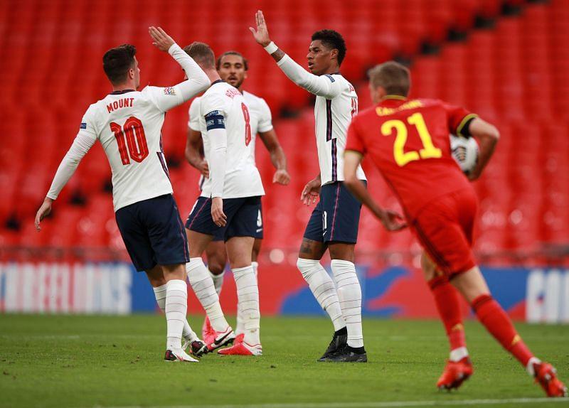 England vs Belgium - 2020-21 UEFA Nations League