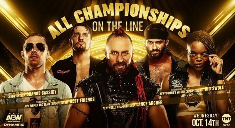 All 4 titles will be on the line