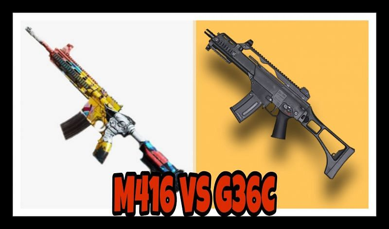 PUBG Mobile: M416 VS G36C; Which assault rifle is better & Why?