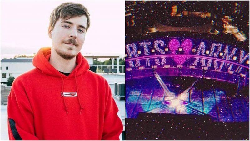 MrBeast Vs BTS is officially happening on Twitter