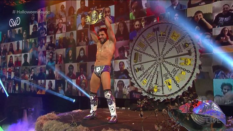 The new North American Champion Johnny Gargano