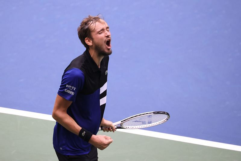 Daniil Medvedev is the top seed of the draw