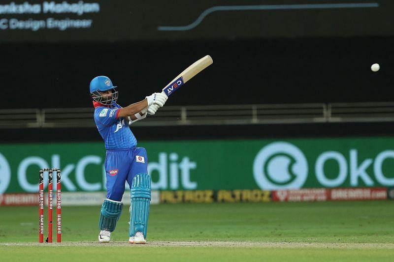 Former Team India opener Rahane has struggled with his strike rate so far. [PC: iplt20.com]