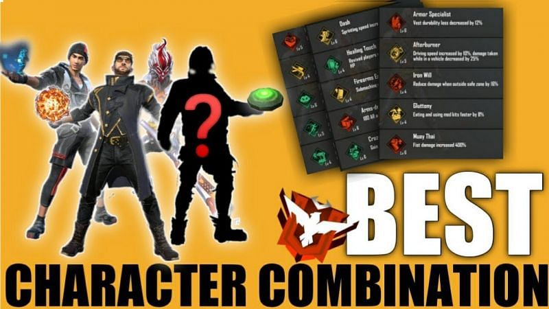3 best character combinations for DJ Alok in Free Fire (Image Credits: Arrow Gaming / YouTube)