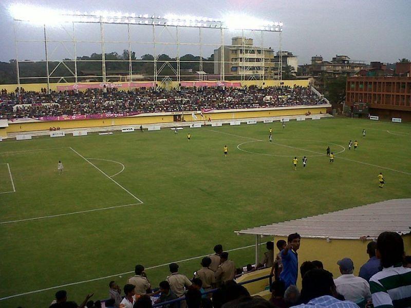 Tilak Maidan Stadium in Vasco