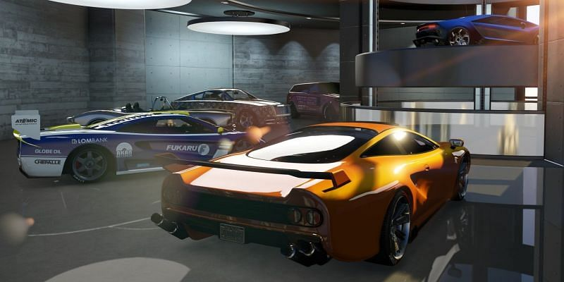 One of the most useful properties for players who tend to collect vehicles in GTA Online is a garage (Image Credits: Screenrant)
