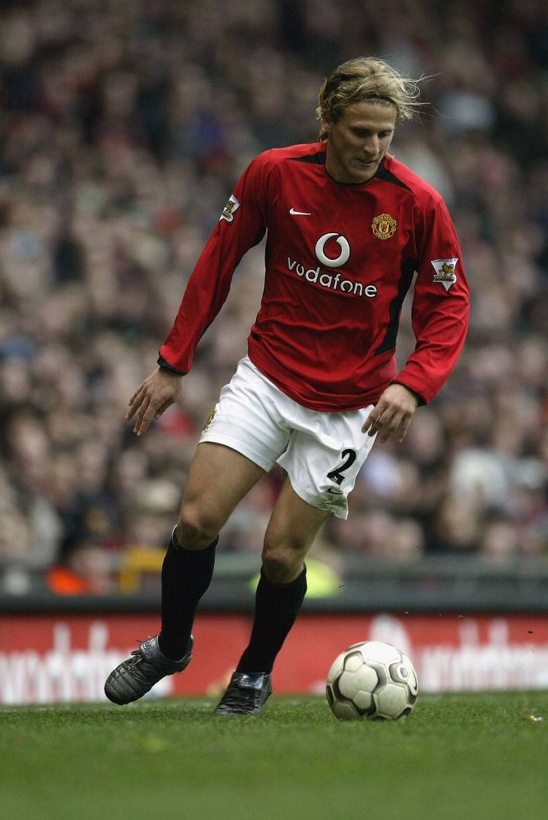 Diego Forlan of Manchester United...