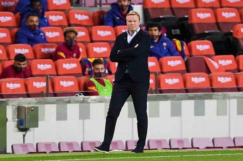 FC Barcelona manager Ronald Koeman
