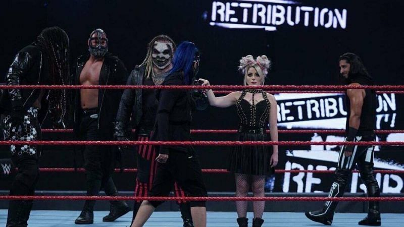 The Fiend, Alexa Bliss and RETRIBUTION