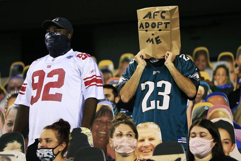 NFC East is a toss up with every team in the Division having a losing record.