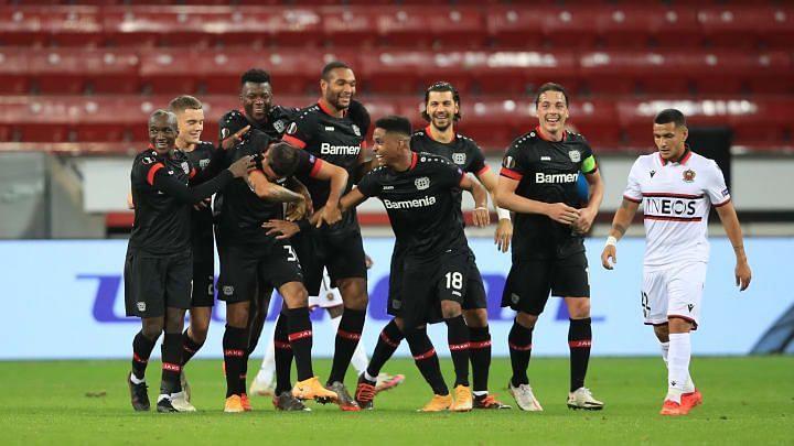 Bayer Leverkusen will look to continue their three-game winning run against Slavia Praha