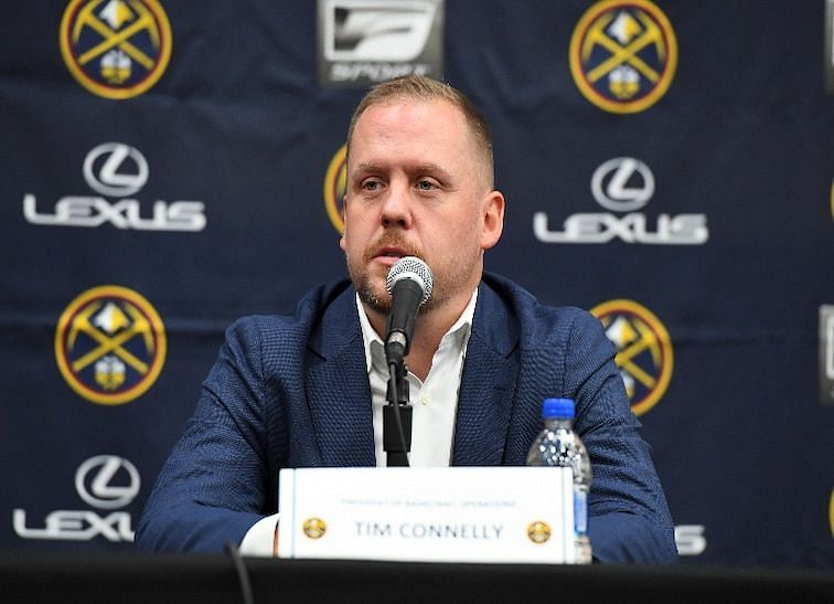 Nuggets President of Basketball Operations Tim Connelly