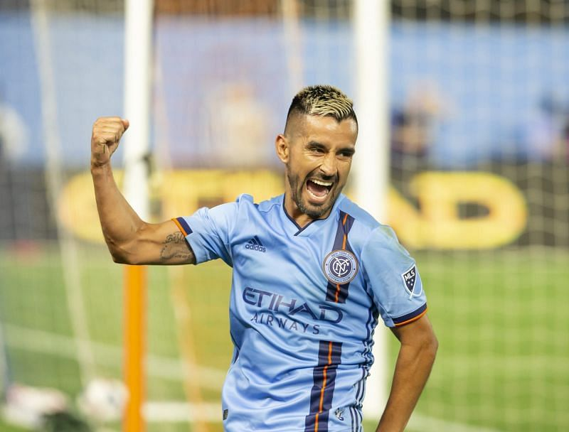 Maxi Moralez is back with New York City FC and has scored a goal on his return
