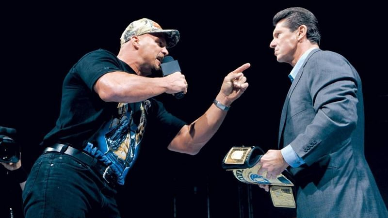 Vince McMahon is a two time world champion in WWE