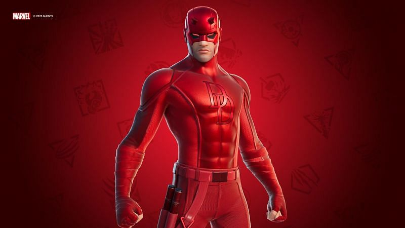 Fortnite just released their newest Marvel cosmetic for Daredevil (Image credit: Epic Games)
