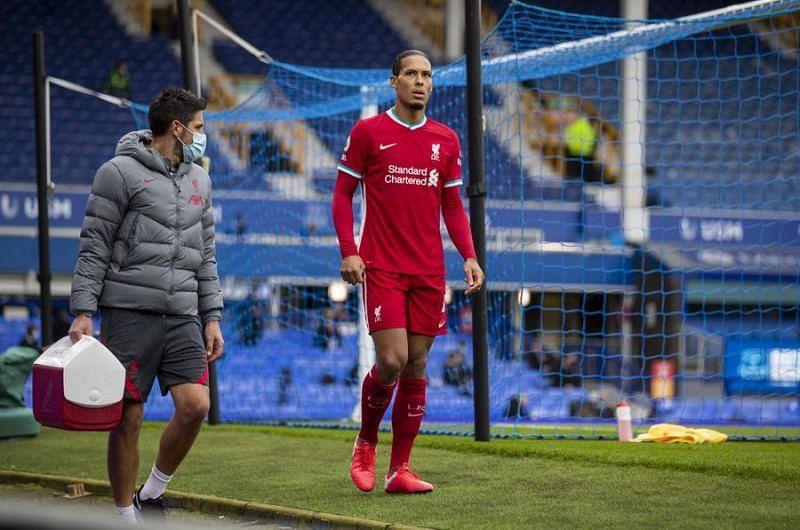 Virgil van Dijk faces a long spell on the sidelines