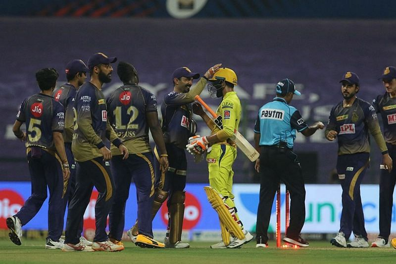 CSK were handed a 10-run loss by KKR in yesterday