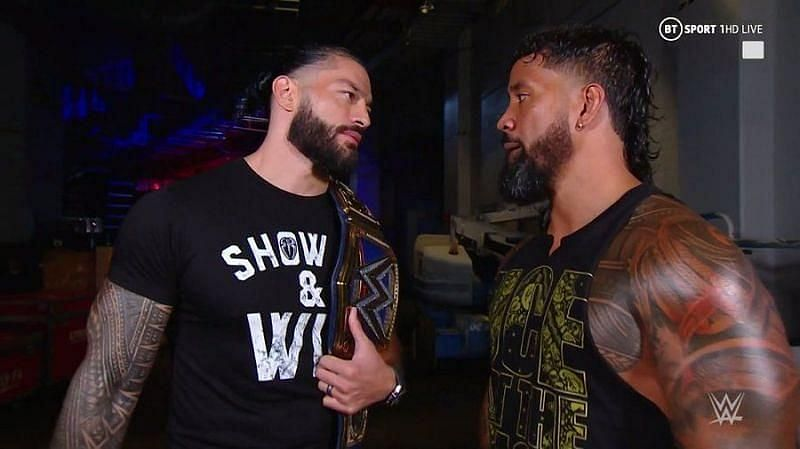 What does Roman have in store for Jey at HIAC?