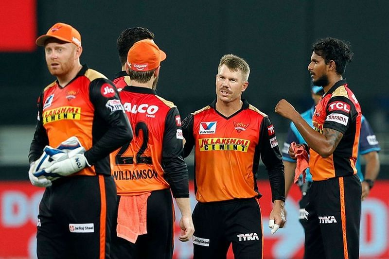 The Sunrisers Hyderabad recorded a comprehensive win in their last match of IPL 2020 (Image credits: IPLT20.com)