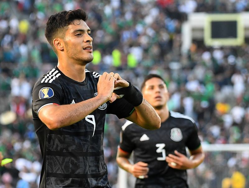 Raul Jimenez scored the winning goal for Mexico on Wednesday