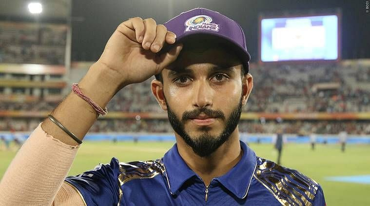Mayank Markande was part of the MI squad in 2018.