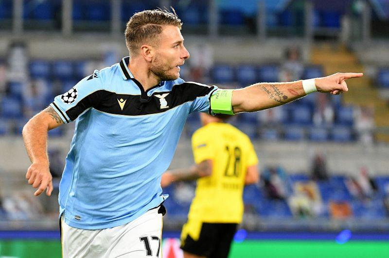 Ciro Immobile has scored in back-to-back games for Lazio
