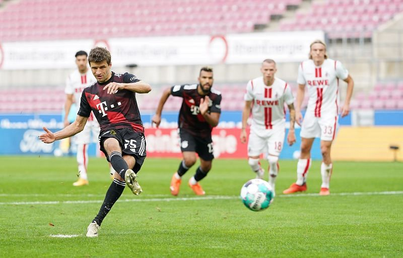 Thomas Muller in action