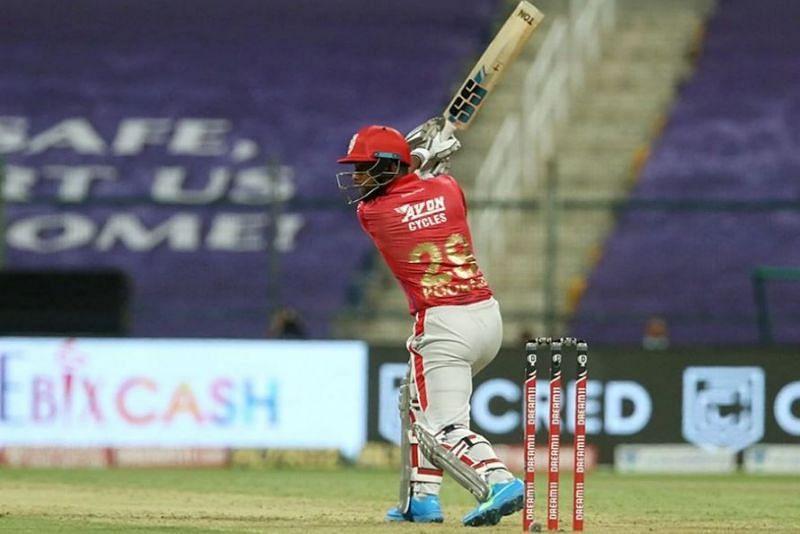 किंग्स इलेवन पंजाब के बल्लेबाज निकोलस पूरन