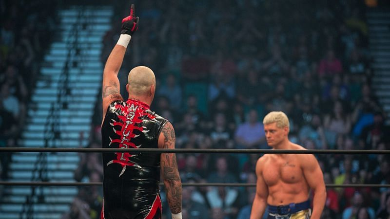 Dustin Rhodes and Cody Rhodes in AEW