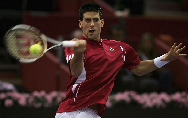 Novak Djokovic was an up-and-coming youngster in 2006