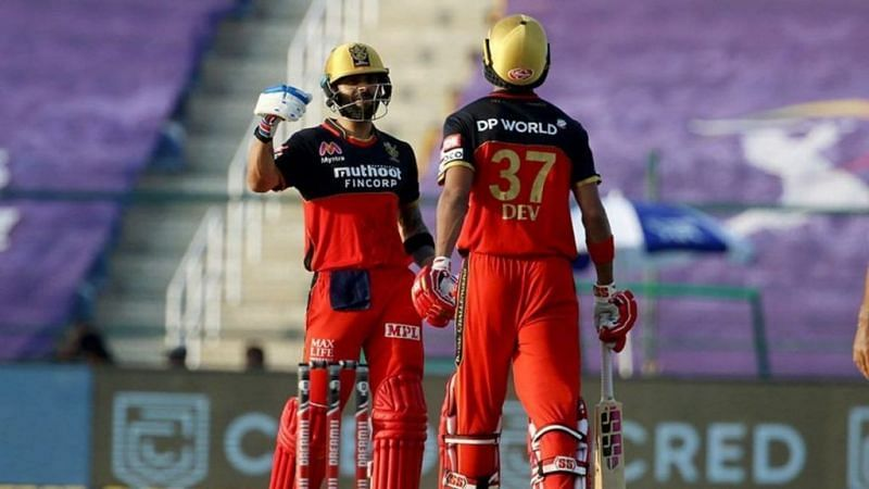 Kohli and Padikkal were the heroes for RCB against RR