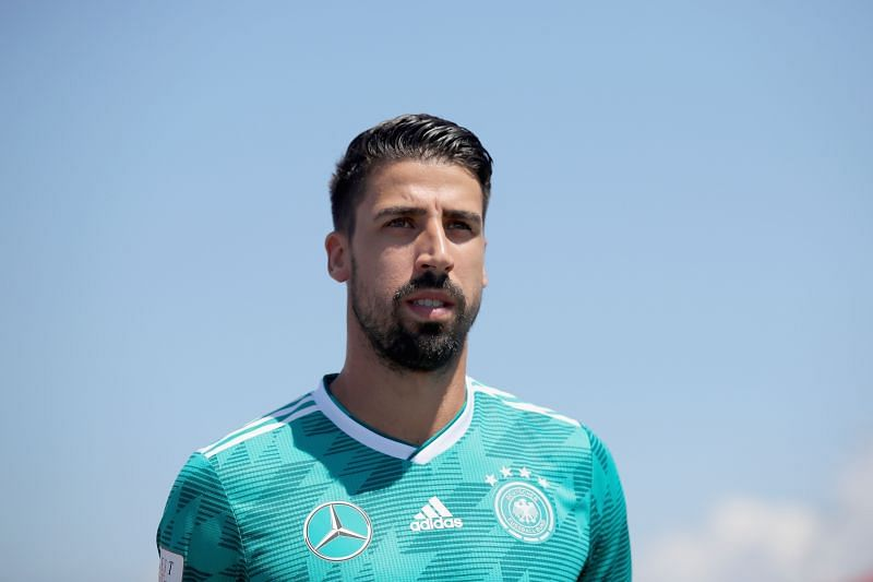 Sami Khedira could leave Juventus in the winter transfer window