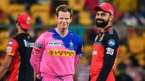 Royal Challengers Bangalore vs Rajasthan Royals. Pic: IPLT20.COM