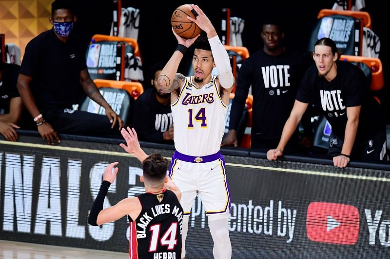 Danny Green was not up to the standards expected of him for the LA Lakers.