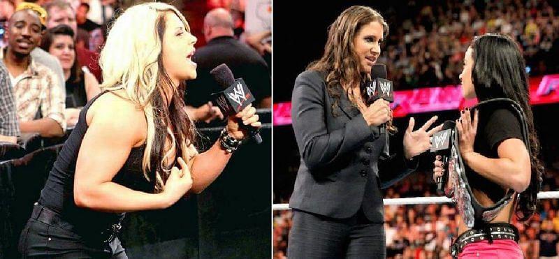 Stephanie McMahon has had heat with many WWE stars over the years