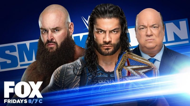 Roman Reigns and Braun Strowman will wrestle on WWE SmackDown
