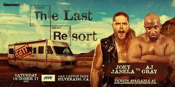 Joey Janela has been pulled from AEW Dynamite after performing at GCW event this past weekend.