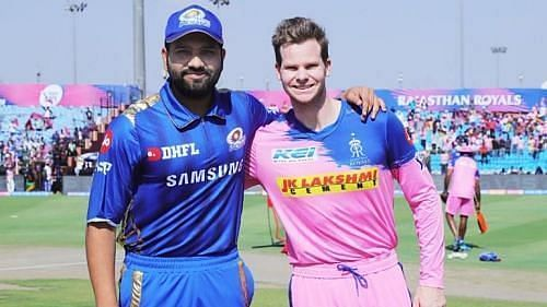 Mumbai Indians vs Rajasthan Royals. Image Credits: IPLT20.COM